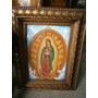 Cuadro Virgen De Guadalupe Óleo Sobre Lienzo Original