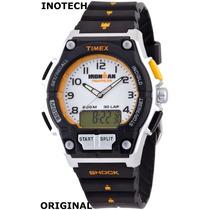 Reloj Timex Iron Man Triathlon T5k Original Inotech
