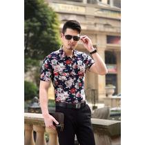 Camisa Floral Moda Asíatica 2016 Coreana Japonesa China