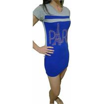 Vestido Curto Mini Veste Blusão Número - Vários Modelos