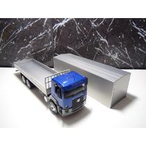 Caminhão Vw Constellation 24.250 Escala 1:43 Schuco Azul