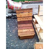 Sillas De Palets Reciclados Para Jardin