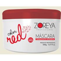 Mascara Matizadora Vermelha Zoreya 500g Lumini Color Red