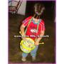 Juguete Musical Para Niños 2 En 1 Combo (tambor Y Pandereta)