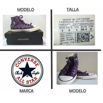 Zapatillas Converse, Chuck Taylor, All Star,clásicos Botines