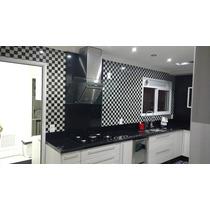 Papel De Parede Adesivo 3d Para Cozinha Banheiro Lavável