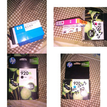 Cartuchos Hp 920xl Solo Negro Cyan Y Magenta
