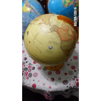 Globo Terraqueo Sep C/base Plastica 25cm Diametro Outlet!!!