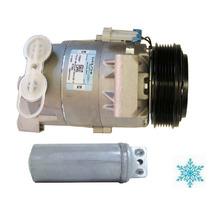 Compressor Gm Vectra 2002 Até 2005 + Filtro Original Delphi