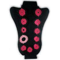 Collar De Anillos. Tejido En Crochet. #clapotinacrochet