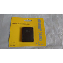 Memory Card 16 Mb Para Ps2 Play Station 2 Envio Gratis