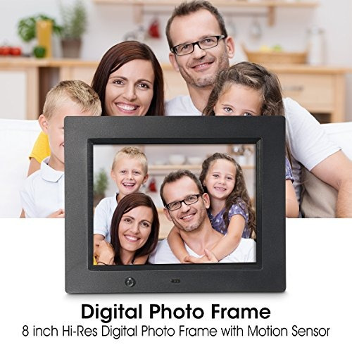 Digital Photo Frame, Wireless Mouse Control, 8 Inch Lcd Wi-f ...