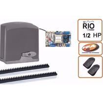 Motor De Portão Eletrônico Deslizante Ppa Dz Rio 1/2 Hp