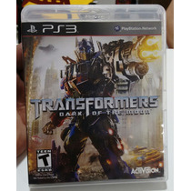 Transformers Dark Of The Moon - Playstation 3 Midia Fisica