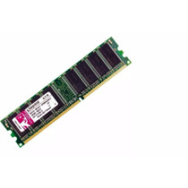 Memória Kingston Ddr1 2gb Desktop Kvr400x64c3a/1g Kit 2x1gb