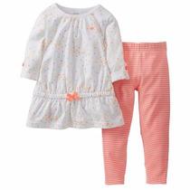 Conjuntos Carters Set 2 Piezas Para Bebe Niña Importados