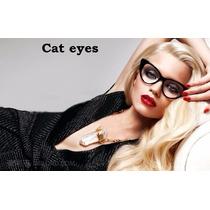 Monturas Cat Eyes Retro Sexy Lentes Damas Importados Unisex