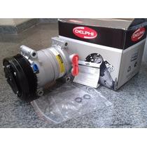 Compressor Ar Cond. S10 Blazer 4.3 V6 6cc Original Delphi