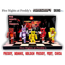 Five Night At Freddy Minecraft Skins Hd Papercraft