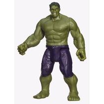 Brinquedo Boneco Hulk Vingadores Som, Luz E 30cm