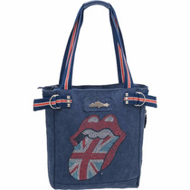 Bolsa Shopping Bag/tote The Rolling Stones Lips Jeans Pacifi