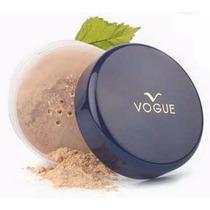 Polvo Suelto Maquillaje Vogue Hipoalergenico Tienda Chacao