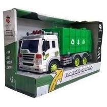 Caminhão De Lixo 1:16 Shiny Toys 307s 000166
