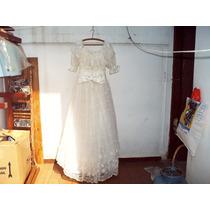 Vestido De Noiva Alta Costura Oportunidade Ùnica !!