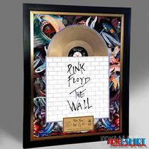 Cuadro Decorativo Pink Floyd Tipo Disco Oro Roger Waters Lp