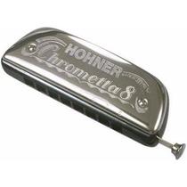 Armonica Hohner M25001 Chrometta8 Cromática 32v Tono C