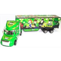 Camion Plastico Juguete Para Niños Ben 10 Gandola