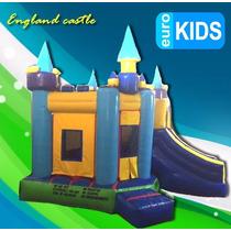 Venta De Brincolines England Castle En Promocion!!!