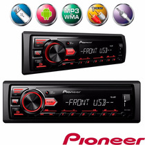Auto Radio Pioneer Mvh-88ub - Usb Android Mp3 Som Automotivo