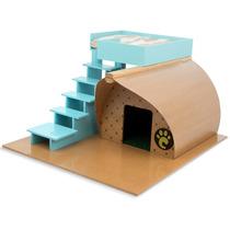 Casinha De Cachorros Pequeno Porte Farm Escada 7001 Carlu