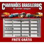 Expositor Estante Caminhões Brasileiros De Outros Tempos