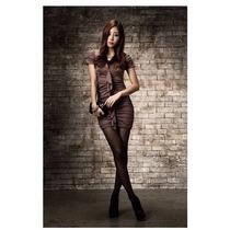 Vestido Mujer Corto Moda Juvenil Casual Manga Corta Sensual