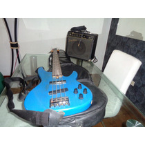 Bajo Electrico 4 Cuerdas Yamaha Microfonos Activos Rbx750a