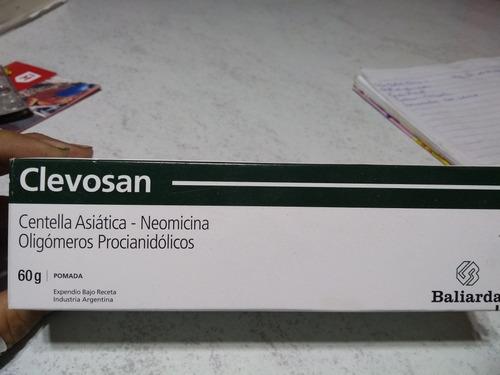 Clevosan Crema X 60g Cicatrizante 73000 En Mercado Libre
