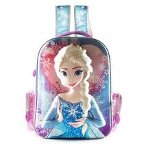Mochila Escolar Elsa Frozen 17 Pulgadas Disney