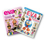 Lote Com 2 Revistas - Eva Técnica 3d - Personagens Infantis