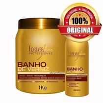 Banho Verniz Hidratação Profissional 1 Kg + Shampoo