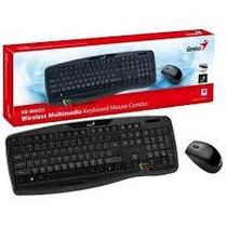 Teclado + Mouse Inalambrico Genius Kb-8000x Smart Tv Compat
