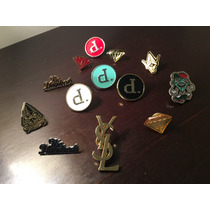 Prendedores Pins Diamond Supply, The Hundreds, Benny Gold .