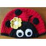 Gorro En Crochet Para Bebé De 3 A 6 Meses. 44 Cm De Cabeza