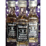 Botella Souvenir Whisky Mini Botellita 30 Cc