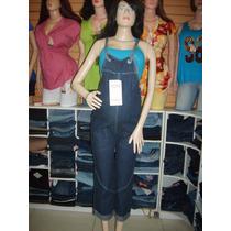Braga Materna Capris, Jeans Stretch, Talla, M Y L.