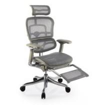 Cadeira Raynor Ergochair V2 2016 Plus Luxury Prata Leg Rest