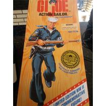 Boneco Gi Joe Falcon 30cm Ed.50th 2° G. Mundial - Marinheiro