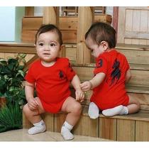 Body Infantil Bebê Criança Macaquinho Macacão Polo