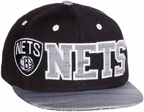 4c6ad685e Bone adidas Flat Brooklyn Nets Ay6129 - R  89
